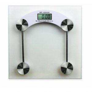 Controla tu peso corporal con tu balanza digital y mantén al 100% tu salud física y mental. Ideal para dormitorio, baño o negocio.