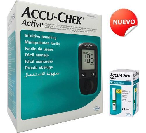 Glucómetro Accu-Chek, un aparato indispensable en la vida decualquier enfermode diabetes. Mide la concentracióndeazúcar en la sangredeforma instantánea con la posibilidaddetransportarlo a cualquier lugar.